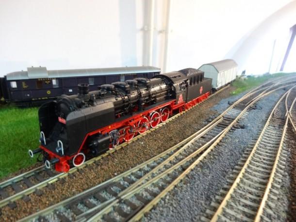 expoziție de trenuri