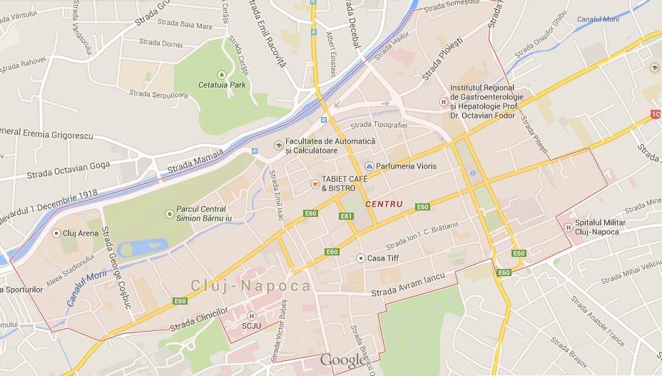cazare centrul Clujului