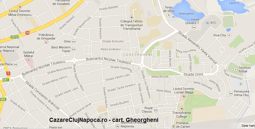 harta cartier gheorgheni cluj