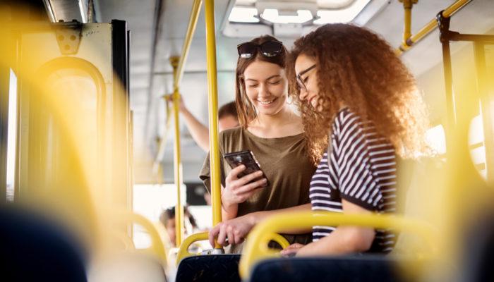 personane in autobuz