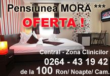 Cazare in Cluj Napoca la Pensiunea Mora - Cazare in Zona Clinicilor