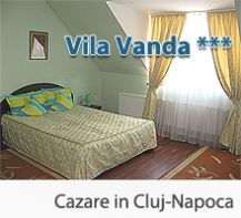 Cazare Vila Vanda - Cazare in Cluj Napoca la Vila de 3 stele