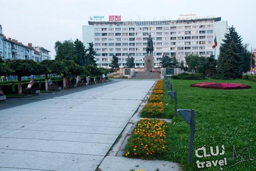 Traseu pietonal prin centrul Clujului
