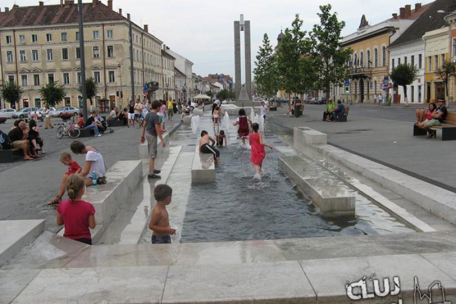 Piaţa Unirii din Cluj Napoca
